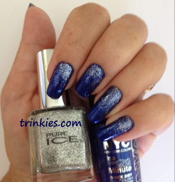 Falling stars nail art falling prinsesfo Image collections